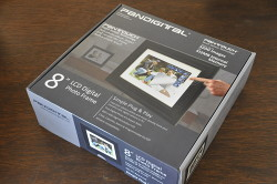 Digital Imaging Accessory Review Pandigital Pantouch Frame