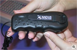 Andus Technologies' ReCHARGE device. Copyright (c) 2003, Michael R. Tomkins. All rights reserved. Click for a bigger picture!