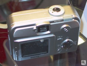 BenQ's DC2300 digital camera. Copyright (c) 2003, Michael R. Tomkins. All rights reserved. Click for a bigger picture!