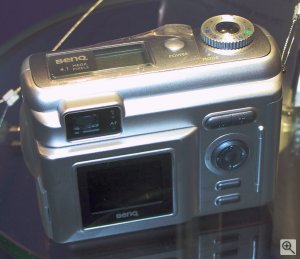 BenQ's DC4500 digital camera. Copyright (c) 2003, Michael R. Tomkins. All rights reserved. Click for a bigger picture!
