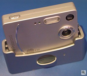 Polaroid's iON 130 digital camera. Copyright (c) 2003, Michael R. Tomkins. Click for a bigger picture!