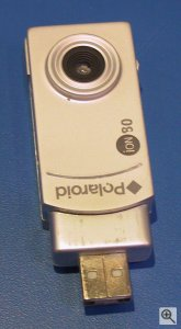 Polaroid's iON 80 digital camera. Copyright (c) 2003, Michael R. Tomkins. Click for a bigger picture!