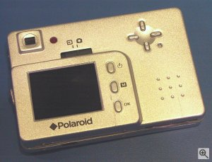 Polaroid's PhotoMAX PDC 1075 digital camera. Copyright (c) 2003, Michael R. Tomkins. Click for a bigger picture!