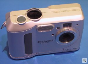 Polaroid's PhotoMAX PDC 3150 digital camera. Copyright (c) 2003, Michael R. Tomkins. Click for a bigger picture!