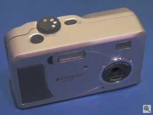 Polaroid's PhotoMAX PDC 3350 digital camera. Copyright (c) 2003, Michael R. Tomkins. Click for a bigger picture!