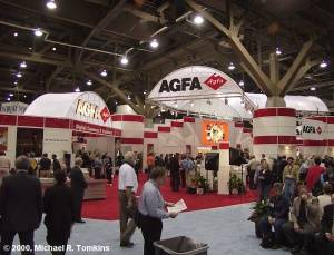 Agfa's PMA Booth - click for a bigger picture!