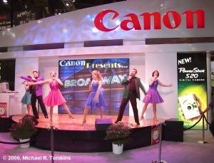 Canon's PMA Show - click for a bigger picture!