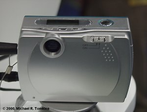 Samsung CyberMax 35 MP3 Back View - click for a bigger picture!
