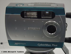 Samsung CyberMax 35 MP3 Front View - click for a bigger picture!