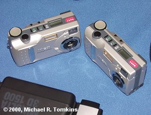 A pair of Dimage 2300s - click for a bigger picture!