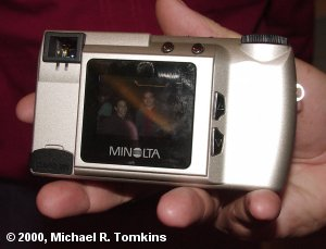 Minolta Dimage 2300 Rear View - click for a bigger picture!