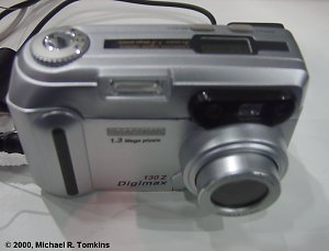 Samsung Digimax 130Z Front View - click for a bigger picture!
