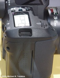 Canon EOS Digital SLR Card Door - click for a bigger picture!