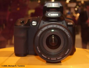 Canon's proposed EOS digital SLR (front view) - click for a bigger picture!