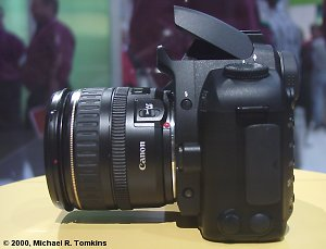 Canon EOS Digital SLR Left View - click for a bigger picture!