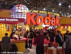 Kodak's PMA Booth - click for a bigger picture!