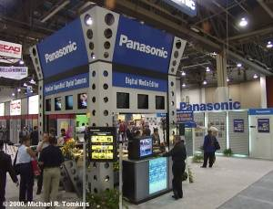 Panasonic's PMA Booth - click for a bigger picture!