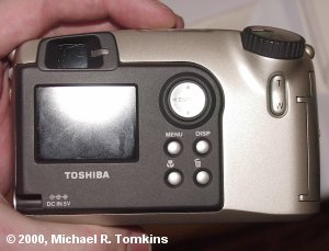 Toshiba PDR-M60 Rear View - click for a bigger picture!