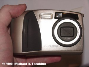 Toshiba PDR-M60 Front View - click for a bigger picture!