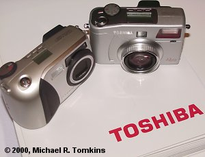Toshiba PDR-M60 and PDR-M70 side by side - click for a bigger picture!