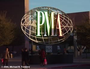 The sun has set on this year's PMA Show, can't wait for next year! - click for a bigger picture!