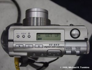 JVC QC-GX3 Top View - click for a bigger picture!
