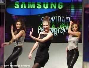 Samsung's PMA Show - click for a bigger picture!