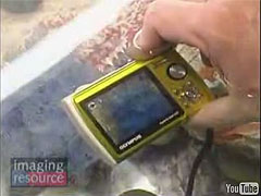 Olympus Camera Underwater