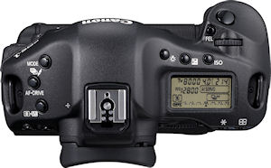 Canon's EOS-1D Mark IV digital SLR. Photo provided by Canon Inc. Click for a bigger picture!