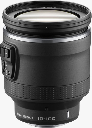 The 1 NIKKOR VR 10-100mm f/4.5-5.6 PD-ZOOM lens. Photo provided by Nikon Corp. Click for a bigger picture!