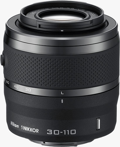 The 1 NIKKOR VR 30-110mm f/3.8-5.6 lens. Photo provided by Nikon Corp. Click for a bigger picture!