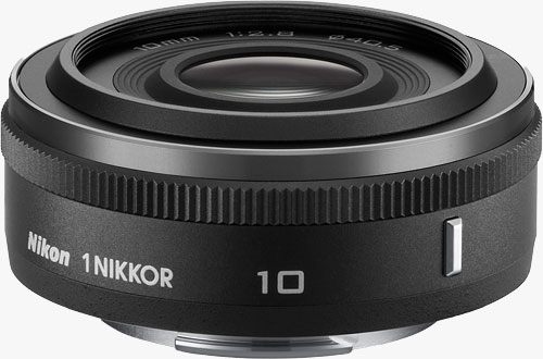 The 1 NIKKOR 10mm f/2.8 lens. Photo provided by Nikon Corp. Click for a bigger picture!