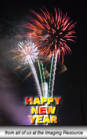 Happy New Year from the Imaging Resource! Copyright (c) 2001, Michael R. Tomkins, all rights reserved.