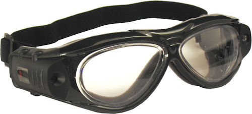 The Freedom Series video camera motorcycle goggle. Photo provided by Liquid Image Co. LLC. Click for a bigger picture!