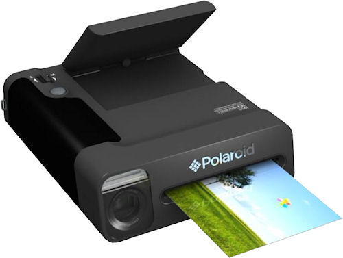 "The Polaroid 3""x4"" Instant Camera. Photo provided by Polaroid. Click for a bigger picture!"