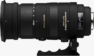 The SIGMA APO 50-500mm F4.5-6.3 DG OS HSM lens. Photo provided by Sigma Corp. Click for a bigger picture!