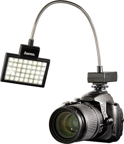 Hama's 60184 LED Photo/Video Slim Panel. Photo provided by Hama GmbH & Co. KG. Click for a bigger picture!