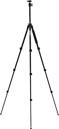 A-150EXU tripod, with legs and center column extended. Photo provided by MAC Group US. Click for a bigger picture!