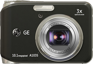 General Imaging's General Electric A1035 digital camera. Photo provided by General Imaging Co. Click for a bigger picture!