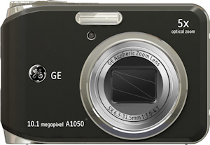 General Imaging's General Electric A1050 digital camera. Photo provided by General Imaging Co. Click for a bigger picture!