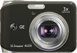 General Imaging's General Electric A1235 digital camera. Photo provided by General Imaging Co. Click for a bigger picture!