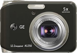 General Imaging's General Electric A1250 digital camera. Photo provided by General Imaging Co. Click for a bigger picture!