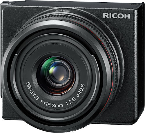 Ricoh's GR LENS A12 28 mm F2.5 module. Photo provided by Ricoh Co. Ltd. Click for a bigger picture!