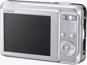 Fujifilm's A220 digital camera. Photo provided by Fujifilm USA Inc. Click for a bigger picture!