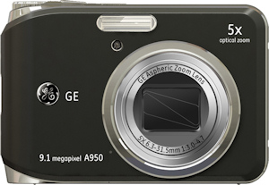 General Imaging's General Electric A950 digital camera. Photo provided by General Imaging Co. Click for a bigger picture!