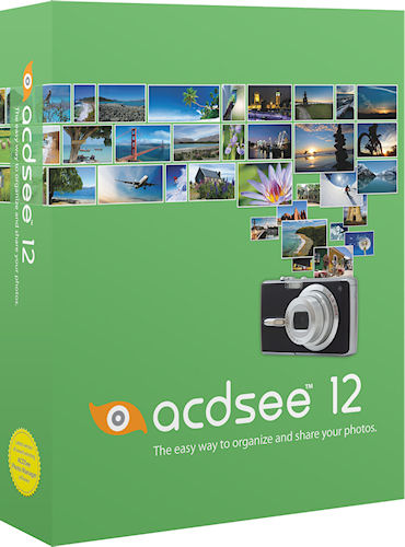 ACDSee 12's product packaging. Screenshot provided by ACD Systems International Inc. Click for a bigger picture!