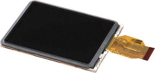 Sony's ACX396AKS 3.0-inch VGA LCD panel. Photo provided by Sony Semiconductor.