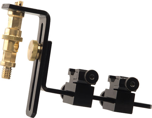 Photoflex's Adjustable Shoemount 2 bracket. Photo provided by Photoflex Inc. Click for a bigger picture!