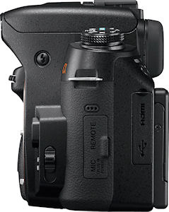 Sony's Alpha DSLR-A560 digital SLR. Photo provided by Sony Electronics Inc. Click for a bigger picture!