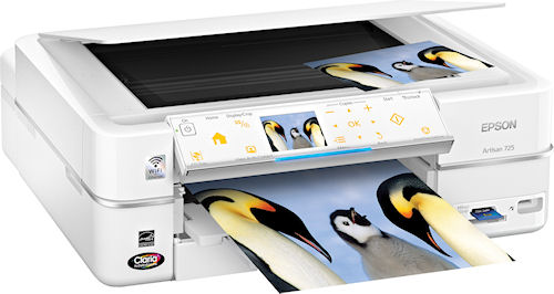 The Epson Artisan 725 all-in-one. Photo provided by Epson America Inc. Click for a bigger picture!